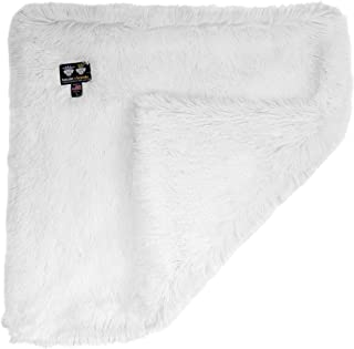 "product image for BESSIE AND BARNIE Ultra Plush Snow White Luxury Shag Dog/Pet Blanket XXL - 80"" x 60"""