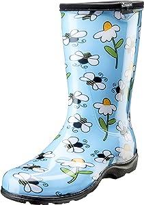 Sloggers 5020BEEBL09 Waterproof Comfort Boot, 9, BEE Blue