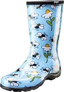 product image for Sloggers 5020BEEBL09 Waterproof Comfort Boot, 9, BEE Blue