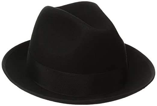 Image Unavailable. Image not available for. Color  SCALA Classico Men s  Wool Felt Fedora Hat (Large 55c90f4787ab