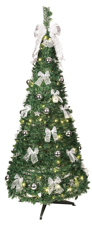 Best Season, Albero di Natale decorato con luci LED 603-92