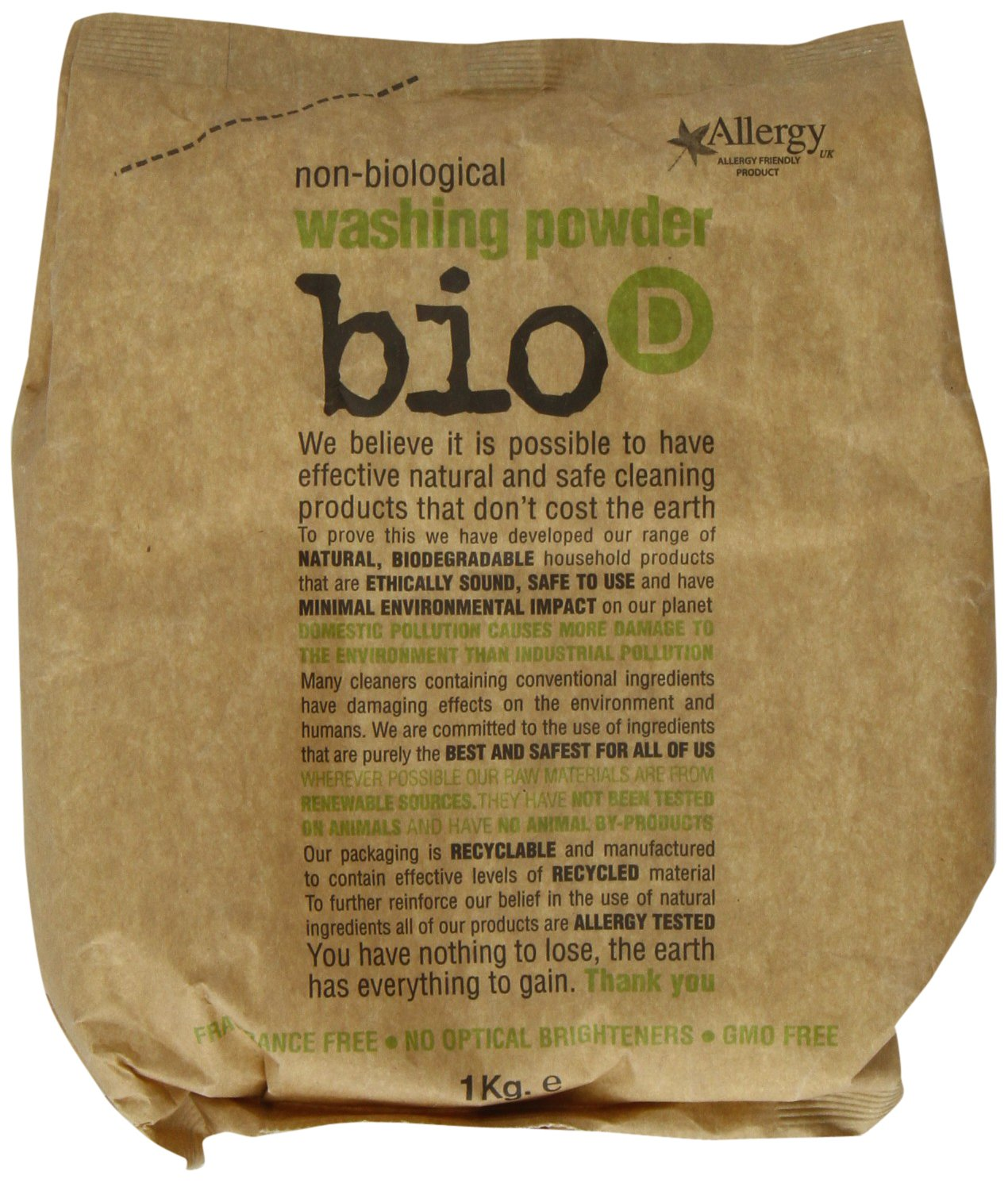 Bio-D Washing Powder 1000g Bio D