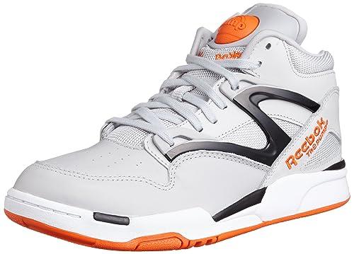 Reebok Pump Omni Lite, Sneakers da Uomo, Grigio (Grau), 43
