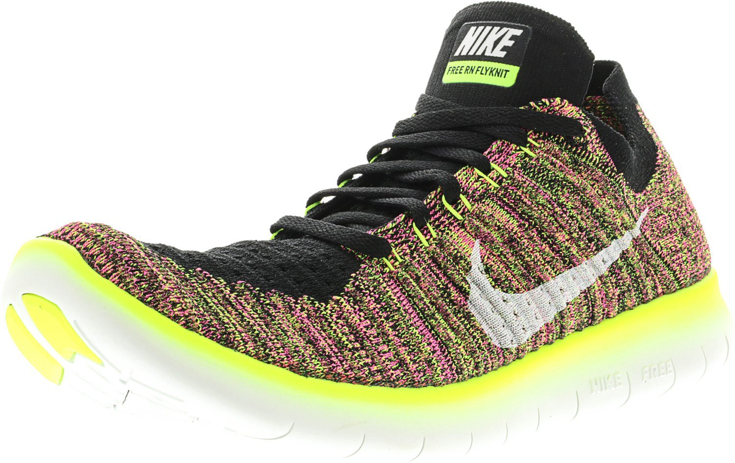 Nike Free RN Flyknit OC, Zapatillas de Running para Hombre 41 EU|Negro (Negro (Multi-color/Multi-color))
