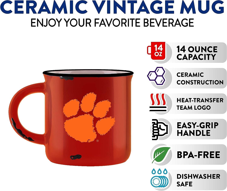 Duck House NCAA Unisex Vintage Bone China Mug