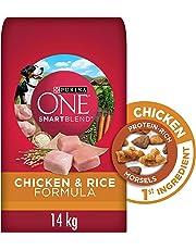 Purina ONE Smartblend Natural Dry Dog Food; Chicken & Rice Formula - 14 kg Bag