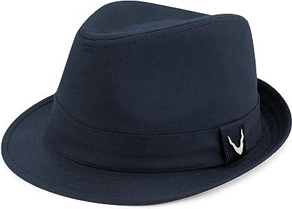 The Hat Depot Premium Paisley Lining Unisex Cotton & Twill