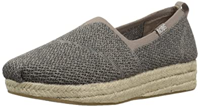 0ebbe070ca7 BOBS from Skechers Women s Highlights-Get Knitty Flat
