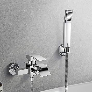 Unterputz Wannenarmatur Wandarmatur für Badewanne KOMPLETTSET mit Wanneneinlauf