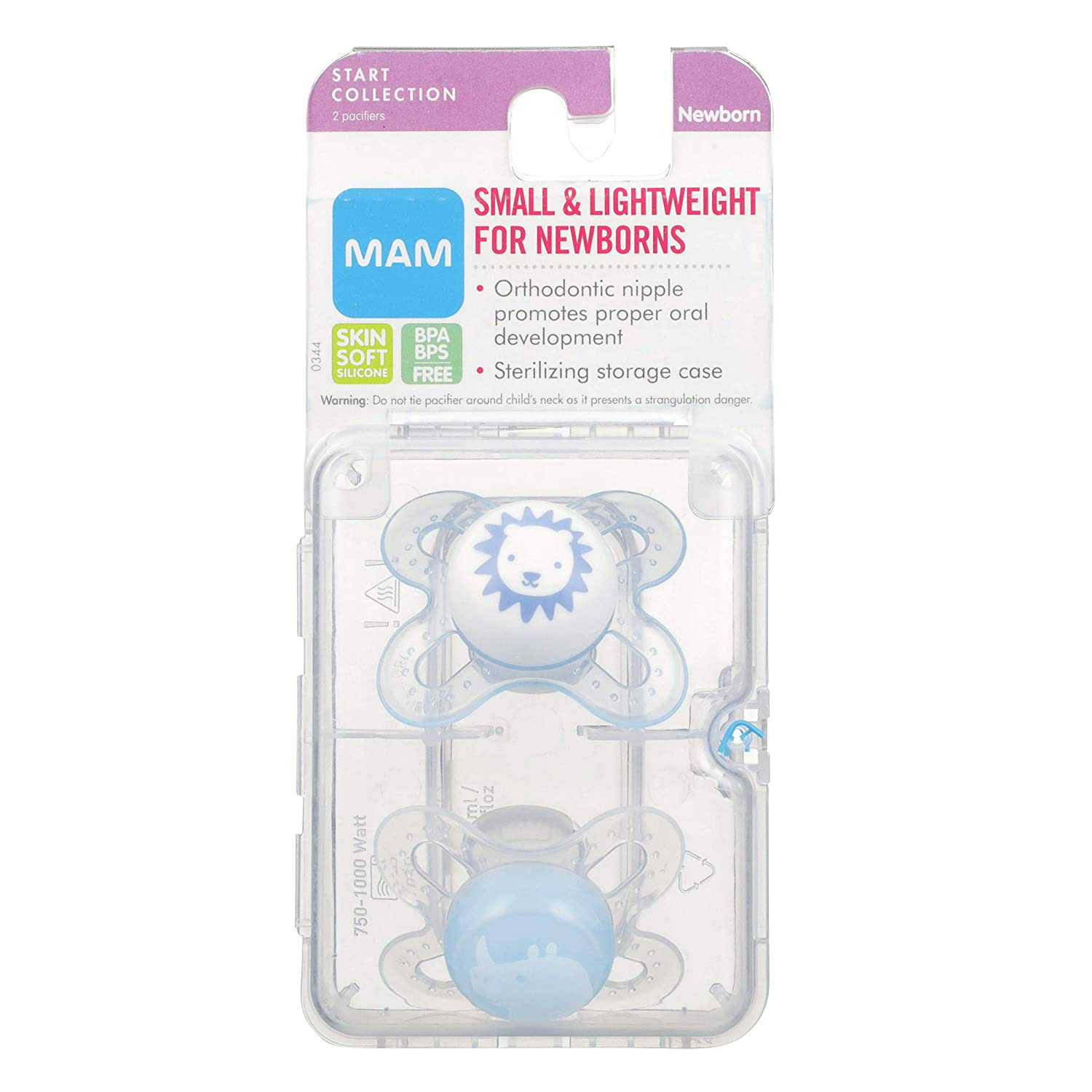 Brand new Without Packaging MAM 0-2 Month Dummies Soothers
