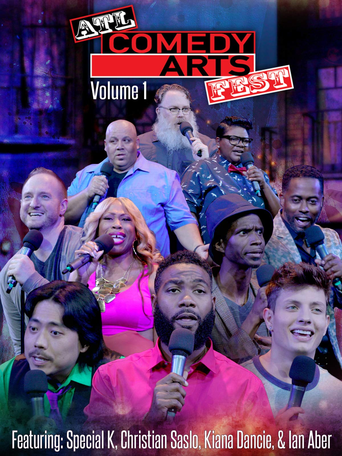 ATL Comedy Arts Fest, Vol 1 on Amazon Prime Video UK