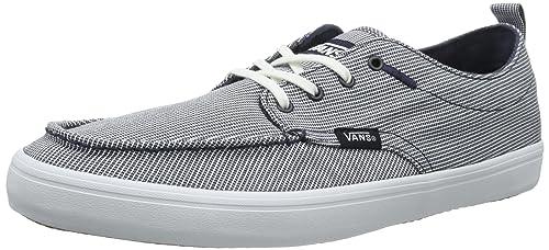 Vans M MILLSY (TEXTILE) NAVY/ - Zapatillas de lona hombre, color azul, talla 45: Amazon.es: Zapatos y complementos