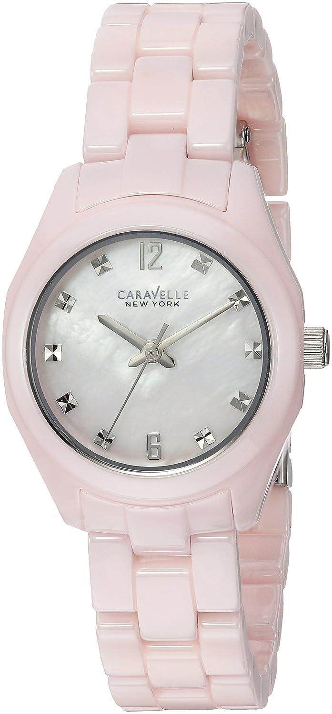 Caravelle New York Women s 45L165 Swarovski Crystal Ceramic Watch