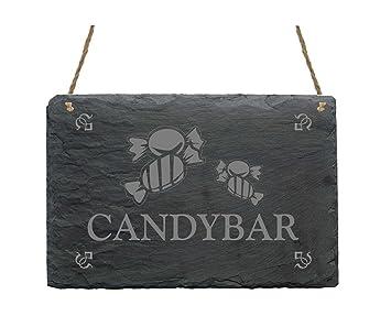 Pizarra « Candy Bar » con diseño de señal presupuesto ...