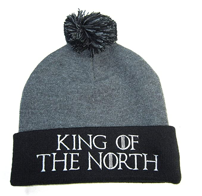 48d18101e013d Game of Thrones  Unisex Pom Hats (King of The North)  Amazon.ca ...