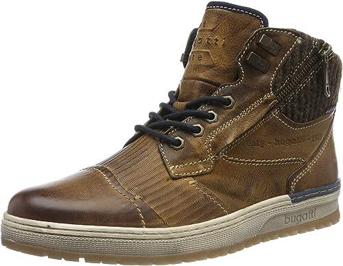Bugatti Herren Schuhe Stiefeletten Chelsea Boots braun 311 60930 3200 100