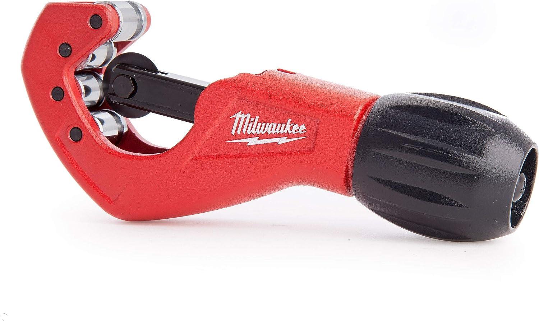 Berrywho Mini Cortador de Tubos de Corte Rango de aleaci/ón de Zinc Cortador de Tubo de PVC Cobre Lat/ón Aluminio Rojo