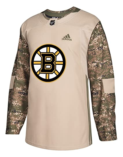 Amazon.com   adidas Boston Bruins NHL Veterans Day Jersey   Sports ... b4d509937