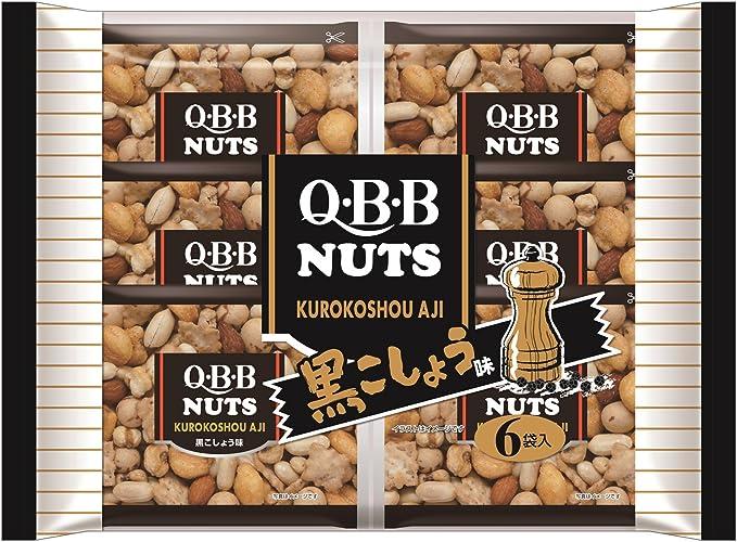 六甲バター QBB 黒こしょう味ミックス 138g×4袋