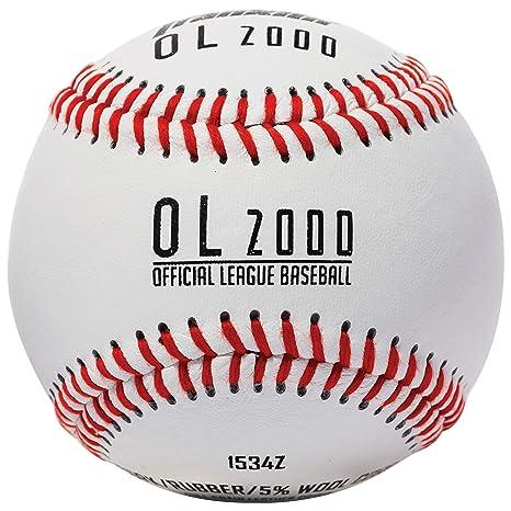 Franklin Sports - Balón de béisbol Oficial de la Liga: Amazon.es ...