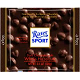 Ritter Sport, Dark Chocolate with Whole Hazelnuts, 3.5-Ounce Bars (Pack of 10)