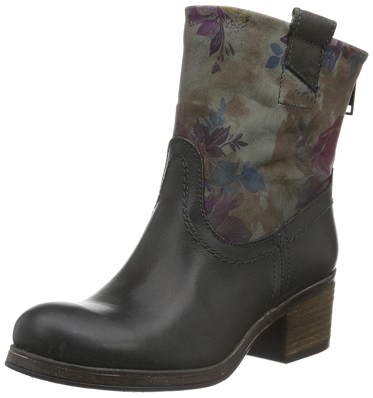 Bullboxer 742m75765a - botas de caña baja con forro cálido y botines Mujer, Mehrfarbig (P169), 42: Amazon.es: Zapatos y complementos