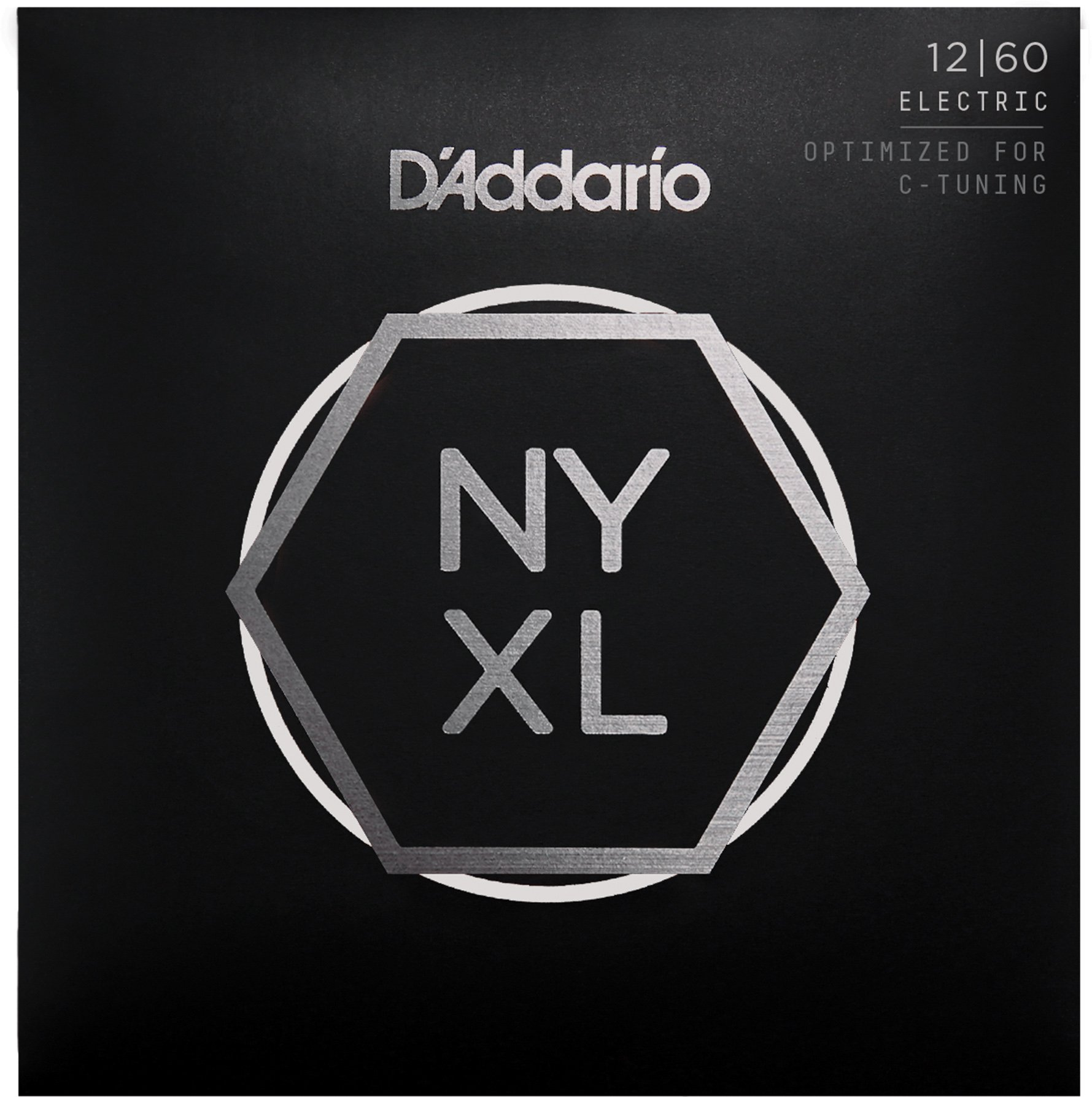 D'Addario NYXL1260 Nickel Plated Electric Guitar Strings,Extra Heavy,12-60 - High Carbon Steel Alloy for Unprecedented Strength - Ideal Combination of Playability and Electric Tone by D'Addario