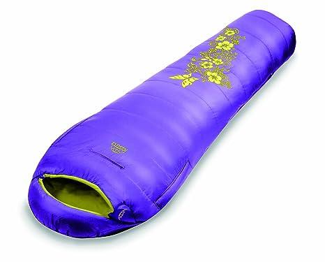LESTRA Saco de dormir para mujer (210 x 80 x 50 cm) morado violett/anis Talla:links: Amazon.es: Deportes y aire libre