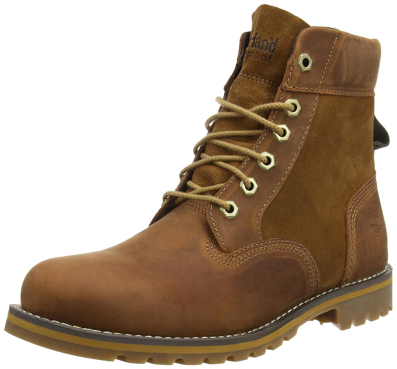 TALLA 42 EU. Timberland Larchmont FTM_Larchmont 6in WP Boot - Botas de Cuero Hombre