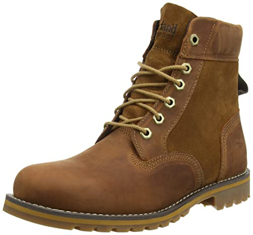 Timberland Larchmont 6 in, Men\u0027s Slouch Boots, Brown (Medium Brown), 6.5