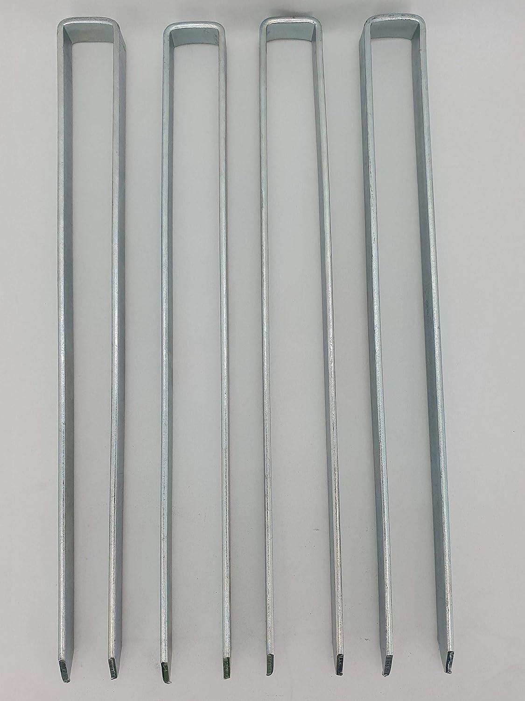 4 x Bodenanker für Rosenbogen Blumenhilfe Obelisk und mehr!