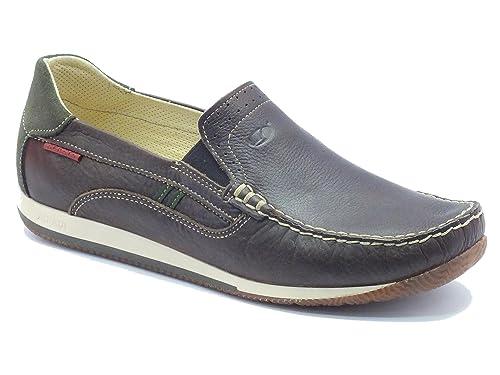 Grisport Mocasines de Piel Para Hombre: Amazon.es: Zapatos y complementos