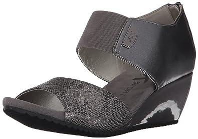 9f22611bb3ce AK Anne Klein Sport Women s Carisma Synthetic Wedge Sandal