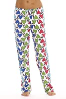 Just Love 100% Cotton Jersey Knit Fun Print Women Pajama Pants Sleepwear