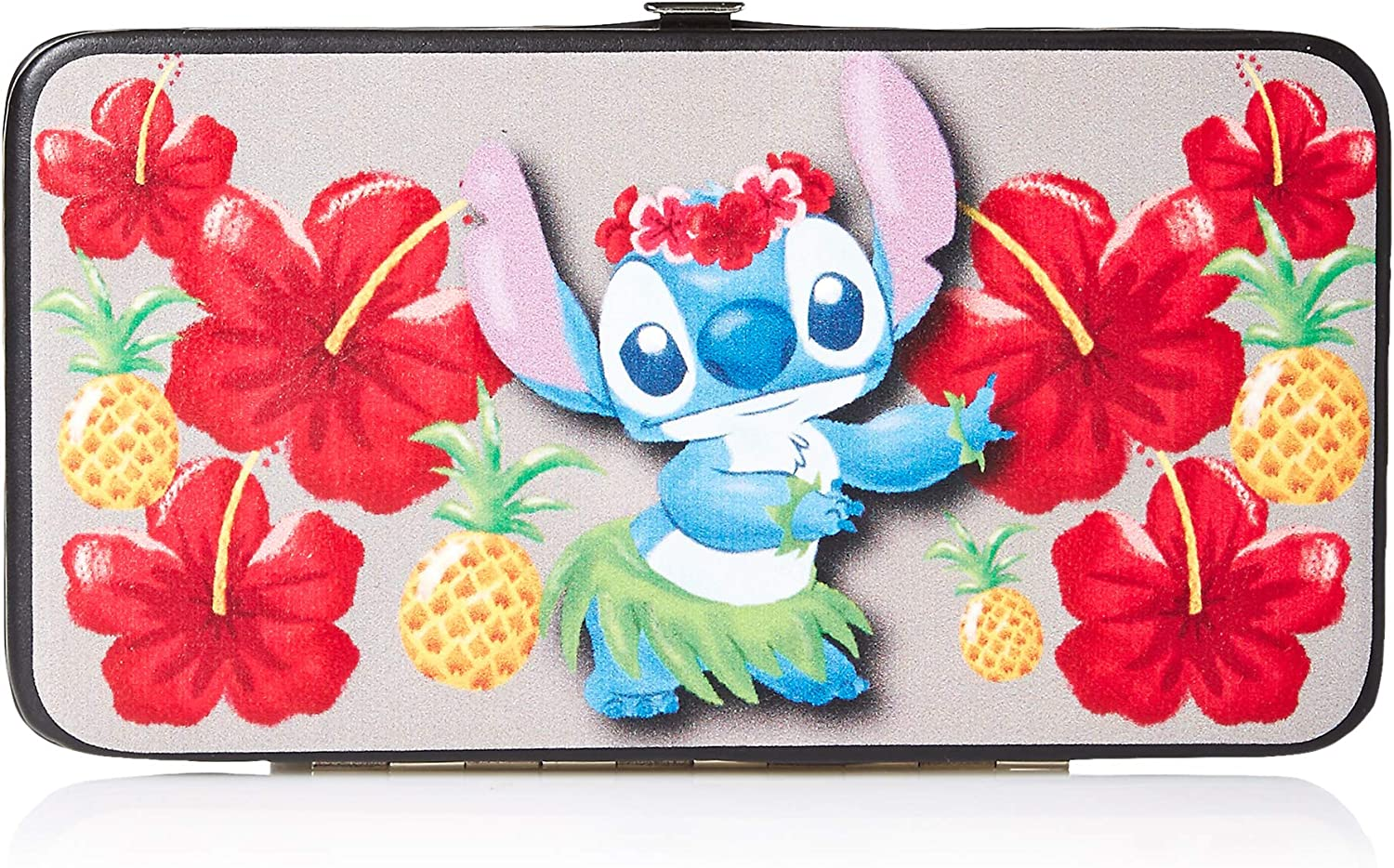 Buckle-Down Women's Hinge Wallet-Lilo & Stitch, 7