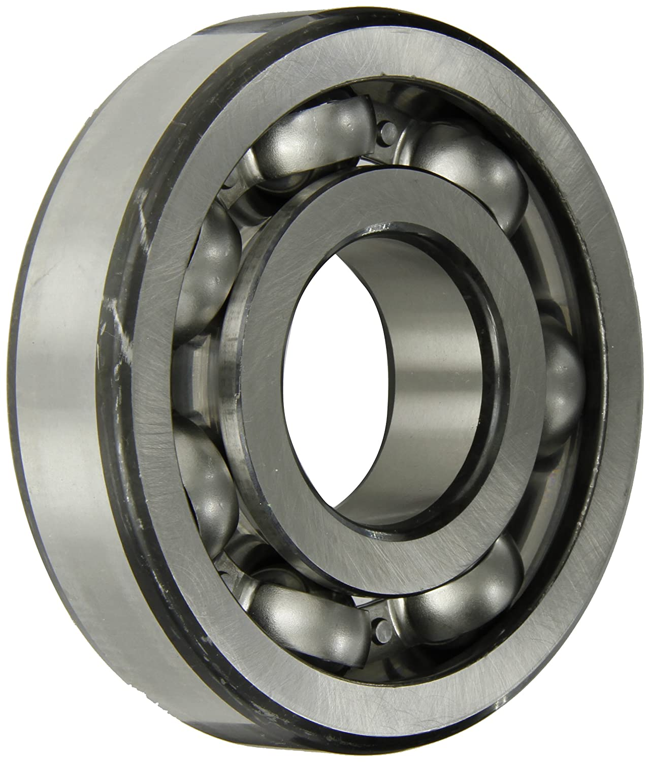 50mm Bore Normal Clearance 31mm Width SKF 6410 Heavy Series Deep Groove Ball Bearing Open ABEC 1 Precision 196000lbf Dynamic Load Capacity 11700lbf Static Load Capacity 130mm OD Deep Groove Design Steel Cage