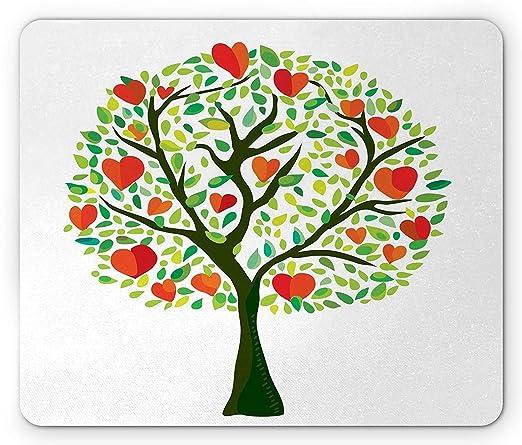 Herzen Maus Pad Spring Mottoparty Love Tree Malen Mit Herzen