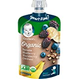 Gerber Organic 2nd Foods Baby Food, Banana, Blueberry & Blackberry Oatmeal, 3.5 oz Pouch