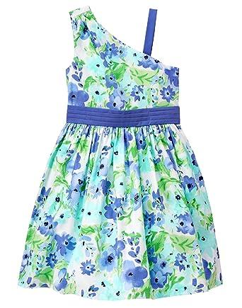 1b978f04ec0a Amazon.com: Gymboree Girls' Big One Shoulder Dress: Clothing