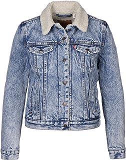 Levi s Women s Ex-Boyfriend Trucker Denim Jacket  Amazon.co.uk  Clothing f94347a9349