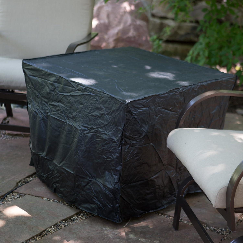 amazon com uniflame slate mosaic propane fire pit table with