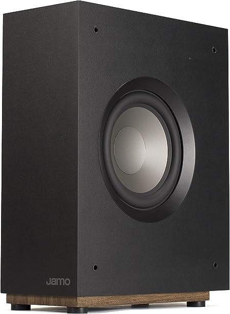 Jamo S 808 Sub Aktiv Subwoofer Schwarz Audio Hifi