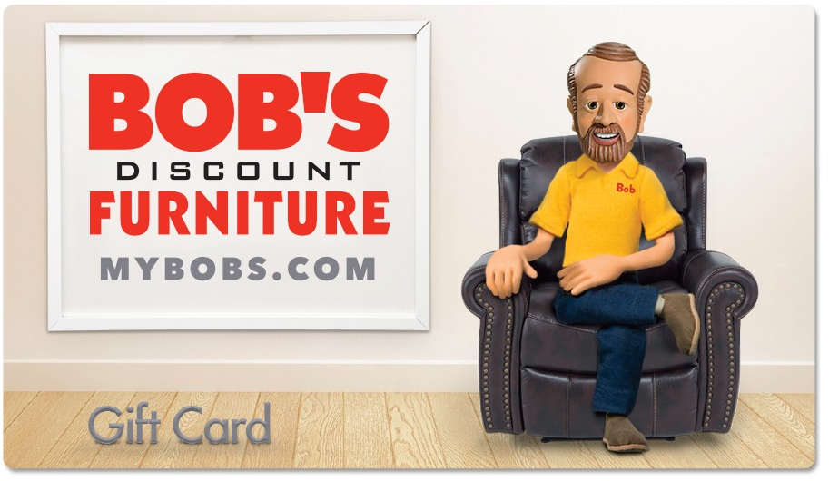 Bob's Discount Furniture Gift Card | Bob's Discount Furniture