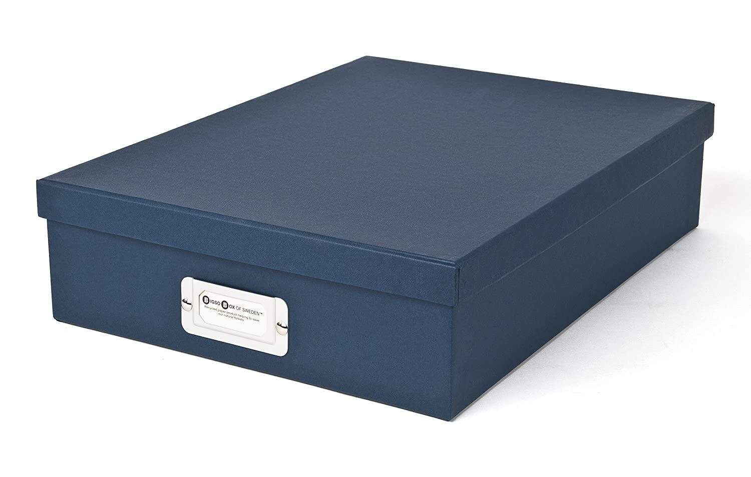 Bigso Oskar Document/Letter Box, Navy 9451569