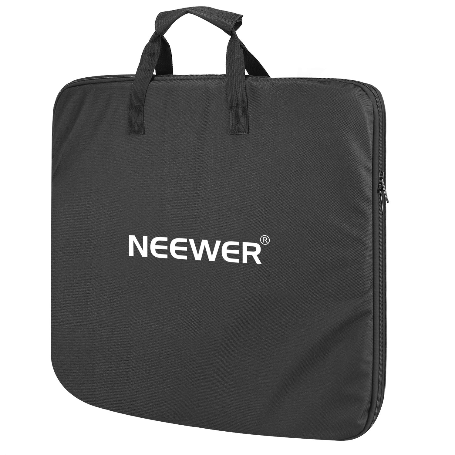 Neewer Enlarged Carrying Bag for 18 inches Ring Light - 29.5x23.6 inches/75x60 Centimeters Protective Case, Durable Nylon, Light Weight (Black) 10094210