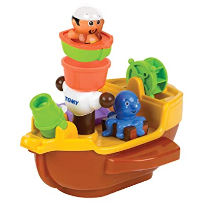 Toomies Pirate Ship Bath Toy: Toys & Games