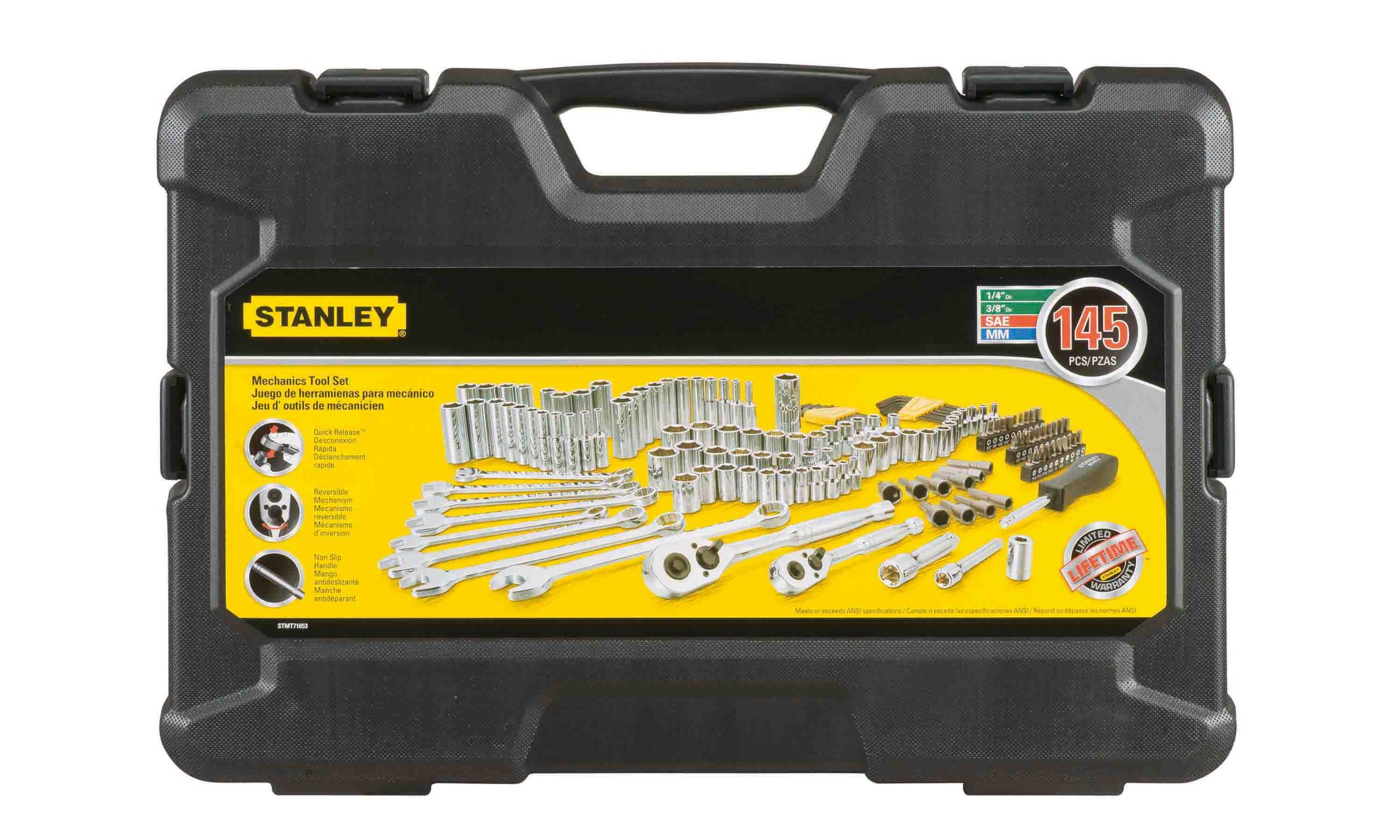 Stanley STMT71653 145-Piece Mechanics Tool Set by Stanley (Image #1)