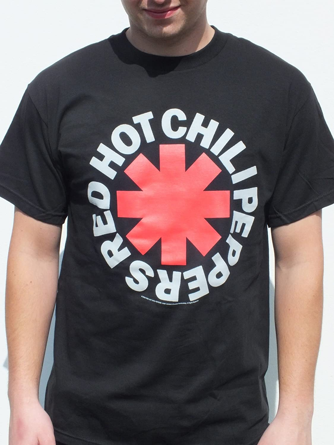 Camiseta oficial de Red Hot Chili Peppers, talla XL
