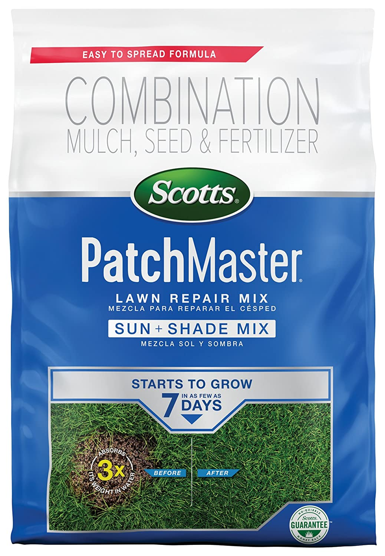 Amazon.com : Scotts Patch Master Lawn Sun & Shade Mix, 4.75 LB ...