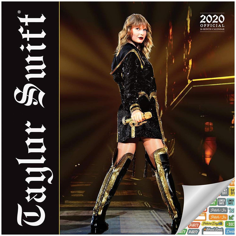 Taylor Swift Tour Dates 2020.Amazon Com Taylor Swift Calendar 2020 Bundle Deluxe 2020